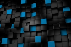 black-and-blue-cubes-wallpaper1